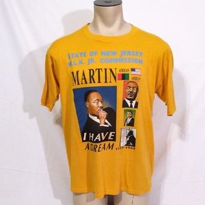 Vintage 90s Black History Month MLK Shirt XL